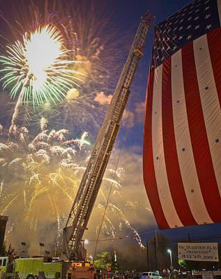 America The Beautiful Print by Jim DeLillo
