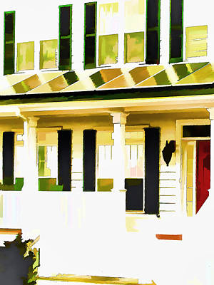 Equity Painting - American Dream Home 3 by Lanjee Chee