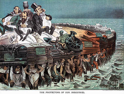 American Financiers, 1883 Print by Granger