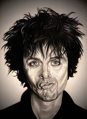 21st Drawing - American Idiot by Fred Larucci