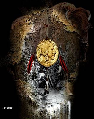 Dream Catcher Gallery Photograph - American Indian Dreamcatcher 2 by G Berry