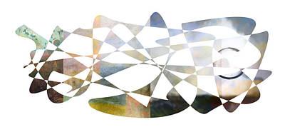 Digital Digital Art - American Intellectual 10 by David Bridburg