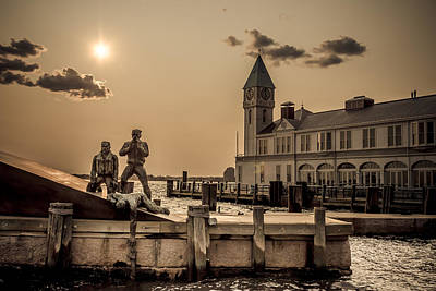 Merchant Mariners Photograph - American Merchant Mariners Memorial by Ovidiu Rimboaca