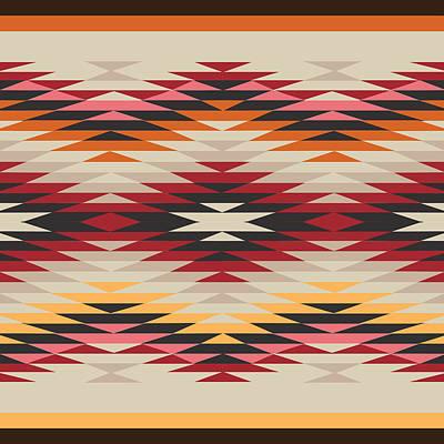 Cute Illustration Digital Art - American Native Art No. 17 by Henrik Bakmann