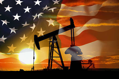 U.s Mixed Media - American Power by Daniel Hagerman