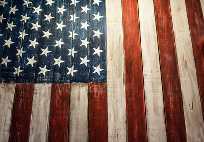 American Pride Print by Shelby  Young