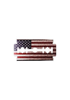 American Razor Print by Nicholas Ely