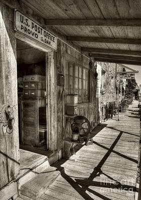 American Wild West #2 Sepia Tone Print by Mel Steinhauer