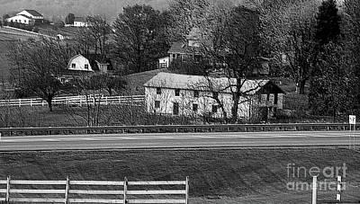 Amish Farm Print by Kathleen Struckle