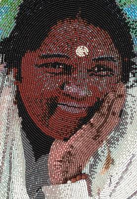 Amma - Close Up Print by Zoe Byrd