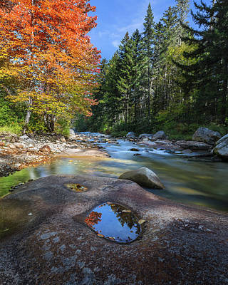 New England Landscape Photograph - Ammonoosuc River by Bill Wakeley
