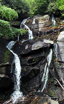 Photograph - Ammons Creek Falls by Kay Lovingood