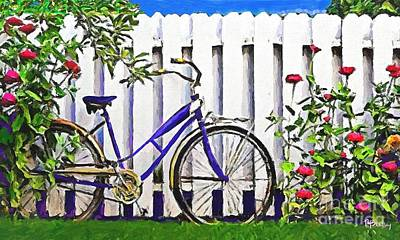 Painting - Among The Roses by Tammy Lee Bradley