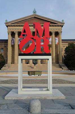 Philadelphia Photograph - Amor  by Bill Cannon