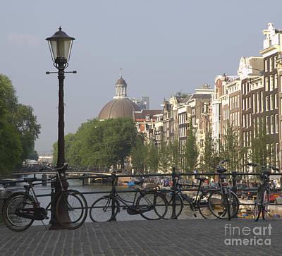 Amsterdam Bridge Print by Andy Smy