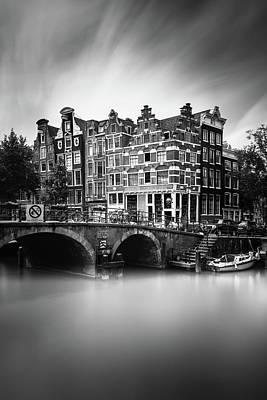 Amsterdam, Brouwersgracht Print by Ivo Kerssemakers