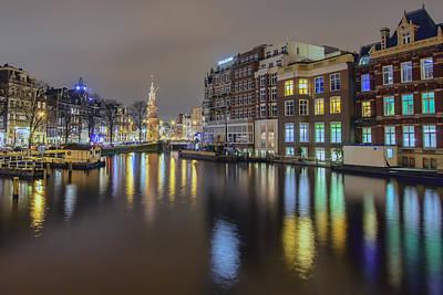 Amsterdam Photograph - Amsterdam Colors by Nadia Sanowar