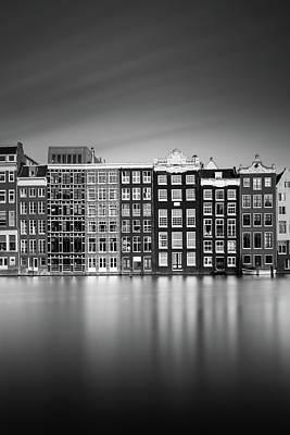 Amsterdam, Damrak I Print by Ivo Kerssemakers