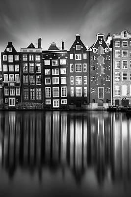 Amsterdam, Damrak II Print by Ivo Kerssemakers