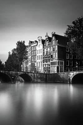 Amsterdam, Keizersgracht Print by Ivo Kerssemakers