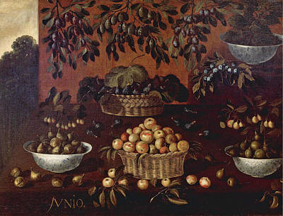 Painting - An Allegory Of The Month Of June by Francisco Barrera