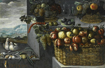Painting - An Allegory Of The Month Of October by Francisco Barrera