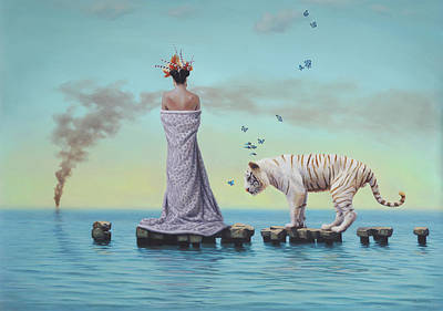 Metaphysical Painting - An Allegory On The Illusion Of Time by Paul Bond