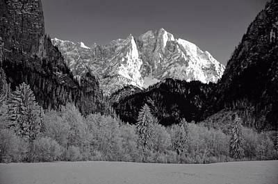 Snow-covered Landscape Photograph - An Austrian Winter Wonderland by Mountain Dreams