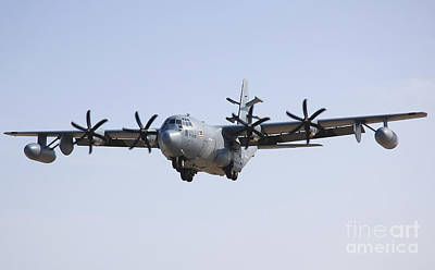 An Ec-130j Commando Solo Aircraft Print by Stocktrek Images