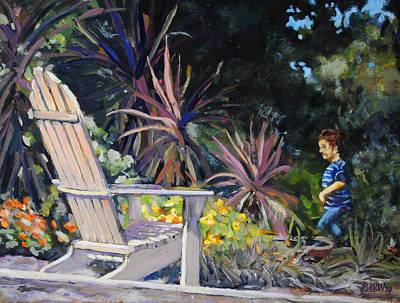 An Empty Chair Original by Richard  Willson