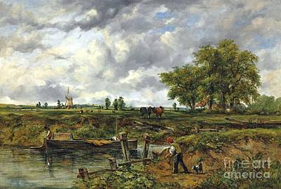 An Extensive Landscape Print by Frederick Waters
