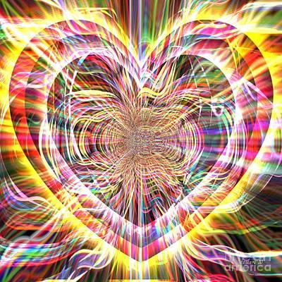 Yesayah Digital Art - An Open Heart  by Fania Simon