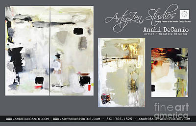 Painting - Anahi Decanio - Abstracts by Anahi DeCanio