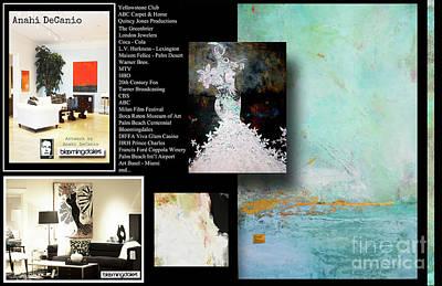 Digital Art - anahi decanio, earthHamptons, hamptons artist, artyzen studios, ny artist, pintora uruguaya, arte ur by Anahi DeCanio