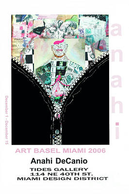 Painting - Anahi Decanio Exhibits At Art Basel Miami by Anahi DeCanio