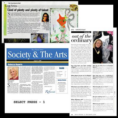 Digital Art - Anahi Decanio In The Press by Anahi DeCanio