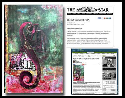 Painting - Anahi Decanio On The East Hampton Star by Anahi DeCanio
