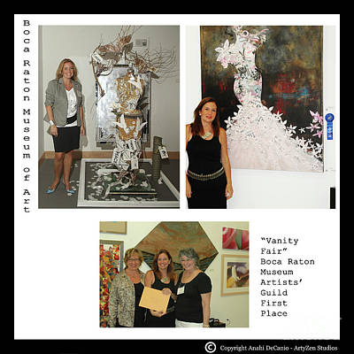 Digital Art - Anahi Decanio Wins First Place by Anahi DeCanio