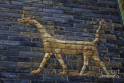 Ancient Babylon Dragon Print by Patricia Hofmeester