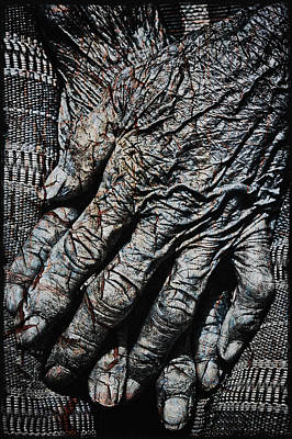 Ancient Hands Print by Skip Nall