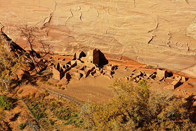 Ancient Navajo Dwellings Original by Arthur Bohlmann
