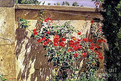 Beverly Hills Painting - Ancient Roses by David Lloyd Glover
