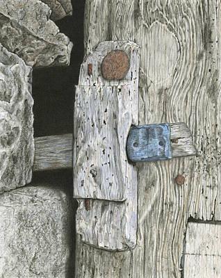 Ancient Secrets Print by Diana Hrabosky