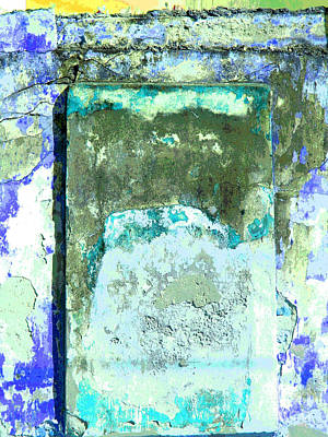 Ancient Wall 2 By Michael Fitzpatrick Print by Mexicolors Art Photography