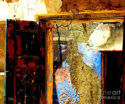 Ancient Wall 3 By Michael Fitzpatrick Print by Mexicolors Art Photography
