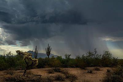 Rainy Day Photograph - And The Rain Fell  by Saija Lehtonen