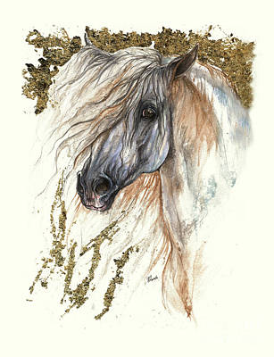 Andalusian Horse 2015 08 31a Original by Angel Tarantella