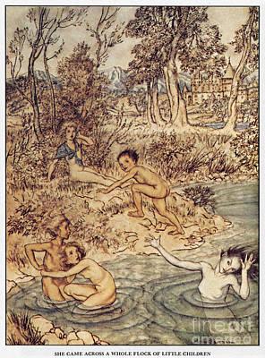 Little Mermaid Painting - Andersen: Little Mermaid by Granger