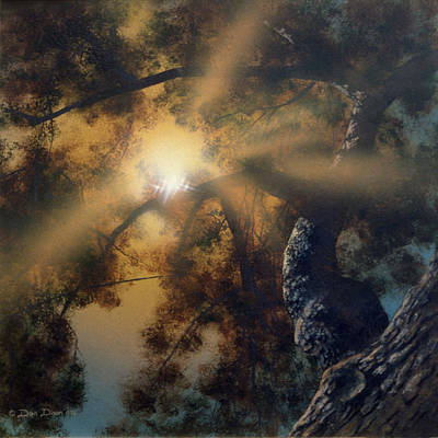 Painting - Andi's Oak by Don Dixon
