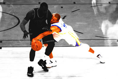 Andre Iguodala Gimme That Print by Brian Reaves